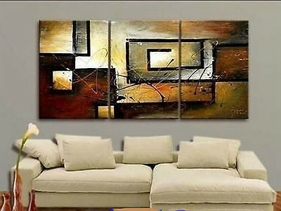 New HOT MODERN ABSTRACT HUGE WALL ART OIL PAINTING ON CANVAS (no framed)  021