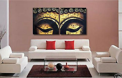 MODERN CANVAS ART OIL PAINTING-BUDDHA EYES  (no framed)  022