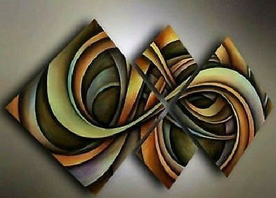 handmade modern abstract art huge oil painting decorative paint (no framed)  018
