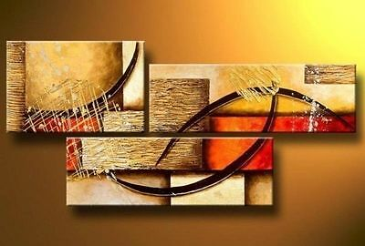 Modern Abstract Huge Wall Decor Oil Painting On Art Canvas (No frame)   005
