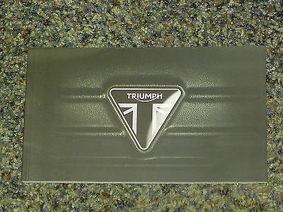 2014 Triumph Motorcycles Brochure Catalog Mint! 80 Pages All Models