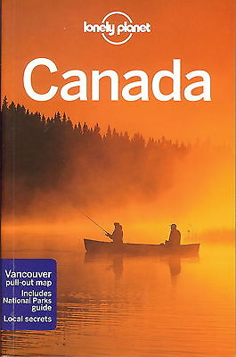 Canada Lonely Planet Travel Guide Book