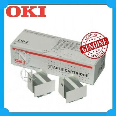 OKI Genuine 45513301 2x1.5K Staples for Offline Stapler-> MC770DNFAX/MC770DFNFAX