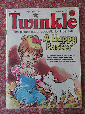 Twinkle Comic No. 637.  5 April 1980. Lovely Condition