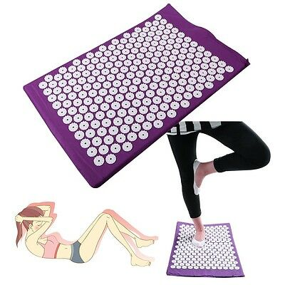 Back Body Massage Relieve Pain Stress Tension Yoga Cushion Mat for Massage
