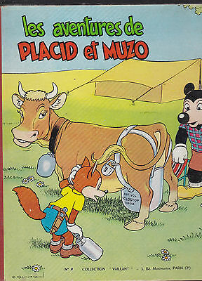 Les Aventures de Placid et Muzo Collection Vaillant N°9  1957