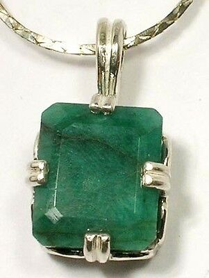 18thC Antique 7 1/3ct Siberia Emerald Gem of Ancient Greek Aristotle Plato 400BC