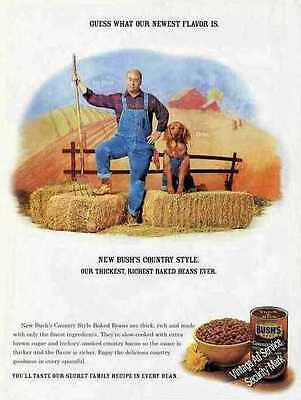 2001 Bush's Country Style Baked Beans Jay Bush/Duke Ad