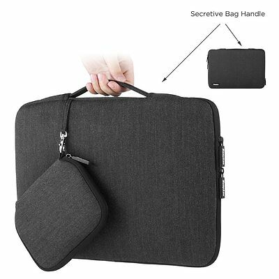"EasyAcc 13"" 13,3"" 14"" Laptop Borsa Custodia Portatile per Macbook con Borsa"