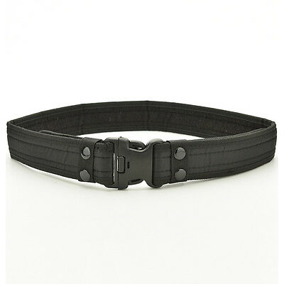 Outdoor Activity Camo Waistband Tactical Hunting Outdoor Sports Belt Black
