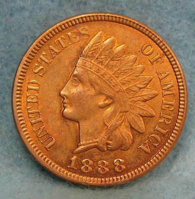 1888 Indian Head Penny Cent Uncirculated * US Coin *