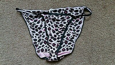 Marks & Spencer Pink & Black Panties, Knickers, Size 14, New Without Tags.