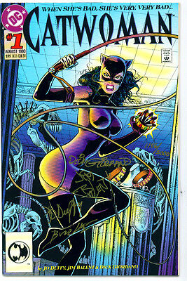 •.•  CATWOMAN (VOL.2) • Issue 1 • Signed & Numbered • Jim Balent • DC Comics
