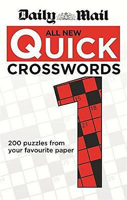 All New Daily Mail Quick Crosswords 1, Daily Mail | Paperback Book | 97806006261