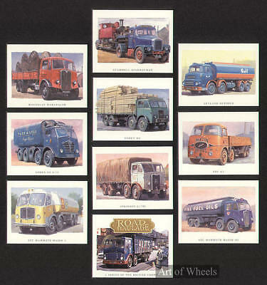 Lorry AEC ERF Foden Leyland Maudslay Print Trade Card