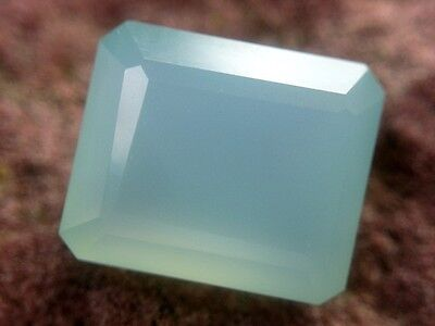 CHALCEDON  -  OCTAGON CUT  -  12x10 mm  -  6,58 ct.