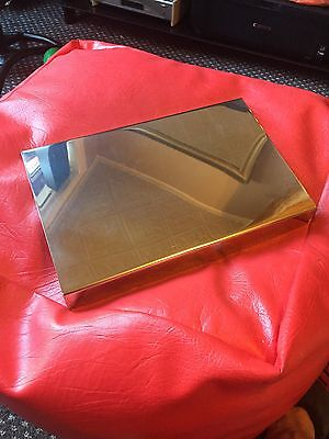 Mk1 & 1.5 Ford Focus Stainless Steel Battery Box Cover, Dress Up Kit. REDUCED!