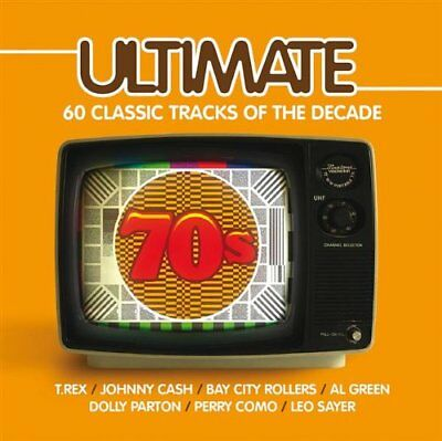 Various Artists - Ultimate 70s - Various Artists CD LOVG The Fast Free Shipping