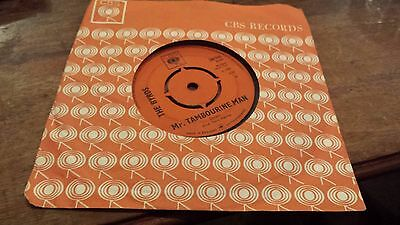 """The Byrds – Mr. Tambourine Man / I Knew I'd Want You - 7"""" Vinyl Record Single"""