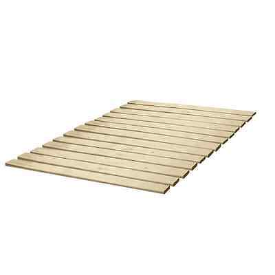 Classic Brands Wooden Bed Slats/Bunkie Board Solid Wood, Full