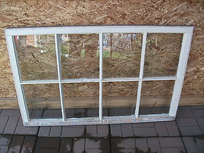Vtg Wood 8 Window Pane Sash Picture Frame Pinterest Wedding Craft Art Project #3
