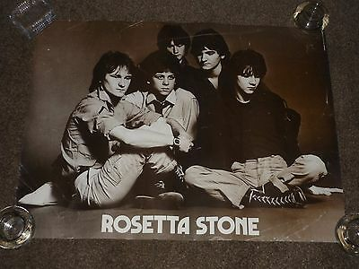 Rosetta Stone (Bay City Rollers) Late 1970s UK Promo Poster