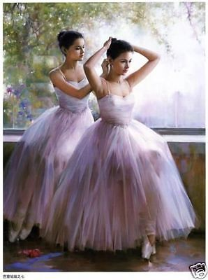 High quality oil painting art oil paintings art canvas-Ballet