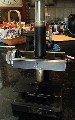 Vintage Wm Gaertner & Co Chicago Scientific Tool Makers Microscope Measuring