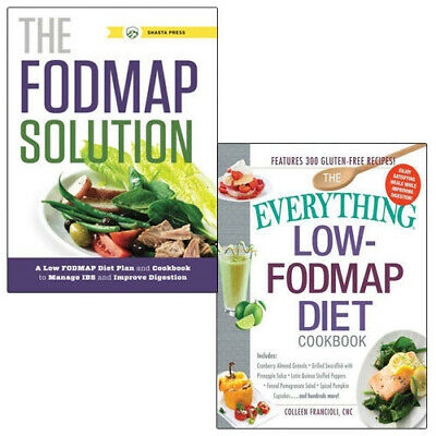 Everything Low-FODMAP Diet Cookbook Collection 2 Books Set (The FODMAP Solution)
