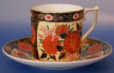 Royal Crown Derby Imari Cup and Saucer Chrysanthemum Boxed