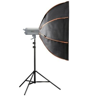walimex pro VC Excellence Advance 400 WS L, Blitzkopf, Softbox, Stativ, B-Ware
