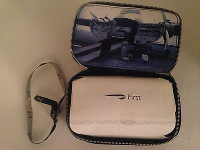 New  British 1St Class Anya Hindmarch Filled Flight Amenities Cosmetic Wash Bag
