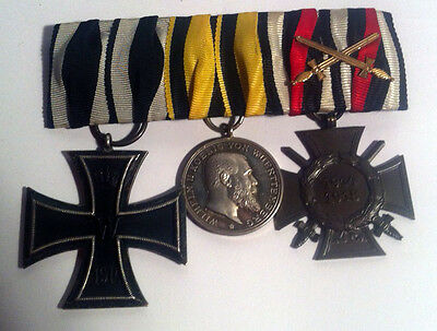 Germany WWI Wuerttemberg Medal Set