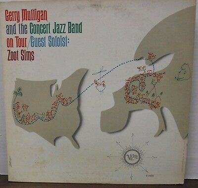 Gerry Mulligan and the concert Jazz Band on Tour Zoot Sims 33RPM  111916LLE