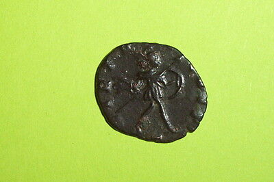 RARE Ancient ROMAN COIN of AUREOLUS 267AD-268 AD virtus shield spear Postumus vf