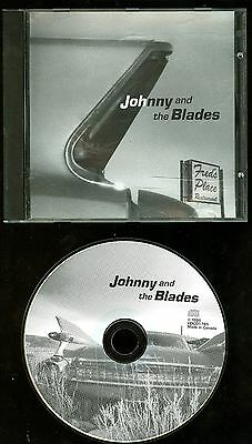 Johnny And The Blades Eat At Fred's Place CD indie Rockabilly Garage