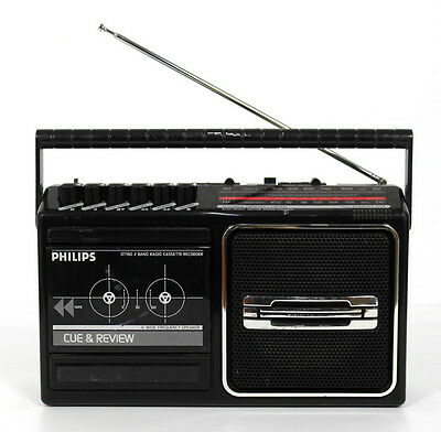 PHILIPS D7160 hochwertiges Kofferrradio, Transistorradio
