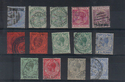 Gibraltar Clearout of early stamps