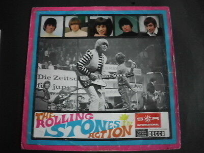 Rolling Stones  LP Action  (Very  Rarity)