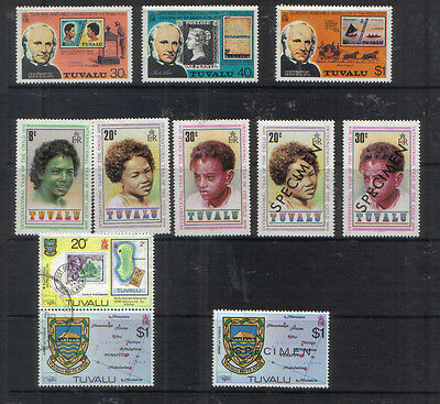 Tuvalu 1979-80 Small collection