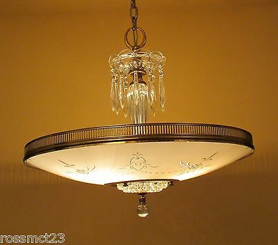Vintage Lighting incredible Mid Century Modern chandelier by Moe