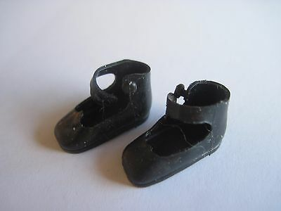 "Black Shiny Original Shoes Vintage Betsy McCall 8"" Dolls #1"