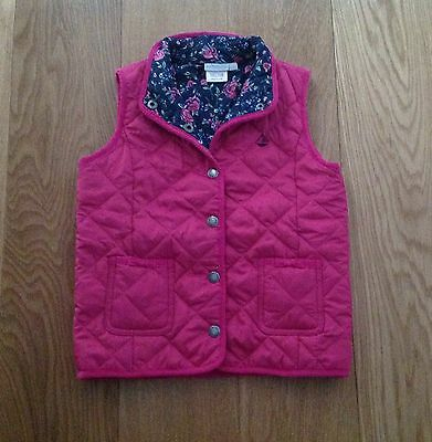 Jojo Maman Bebe Girls' Quilted Gilet / Bodywarmer (3-4 years) - Gorgeous!