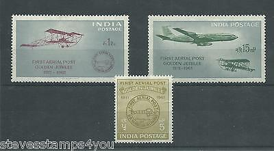 India - 1961 - SG434 To SG436 - CV £ 6.50 - Mounted Mint