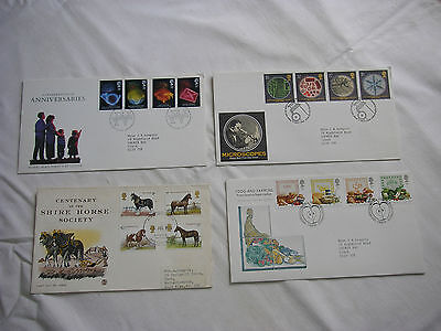 4no First Day Covers.