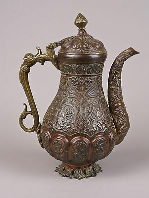 A Fine 19th Century Kashmiri Copper & Brass Ewer.