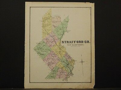 New Hampshire, Strafford County Map, 1871 N5#37