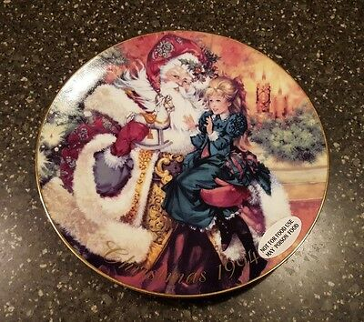 1994 Avon The Wonder of Christmas Porcelain Collector's Plate NOS NIB