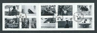 Booklet containing full set of 10 Cats & Dogs stamps 2001 SG2187-2196.