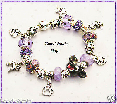 Chihuahua Bracelet. Paw Print, Love My Dog. Hand Made, Skye for Chihuahua Lovers